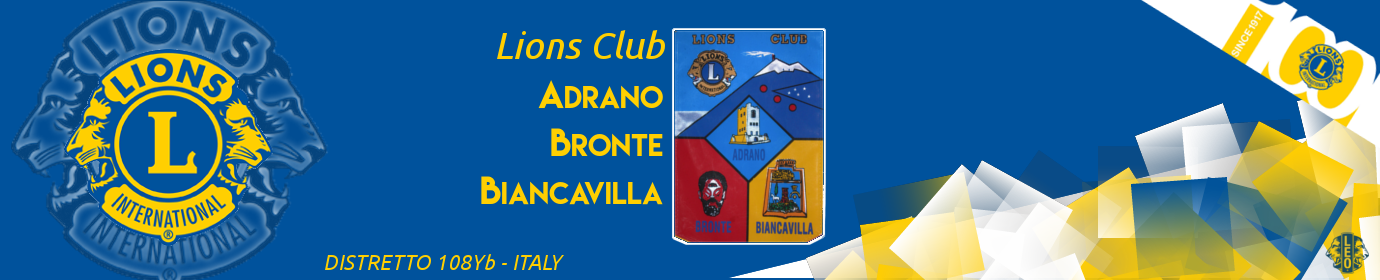 Lions Club - Adrano Bronte Biancavilla